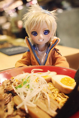 That face seems to indicate he thinks it's all for him. (lightlybattered) Tags: naruto mdd mini dollfie dream volks doll bjd ball jointed haruka amami dds modded custom