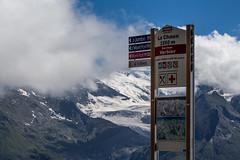 La Chaux 2260m (MattLawrence) Tags: la chaux verbier switzerland alps mountains valais sign