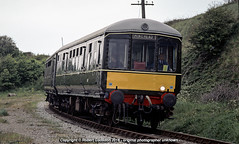 1991 - 'Gloucester Survivor.. (Robert Gadsdon) Tags: 1991 gloucesterrailwaycarriageandwagoncompany class100 br dmu westsomersetrailway withdrawn restored preserved surviving