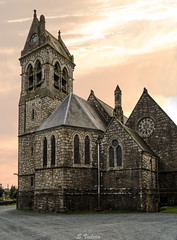Irish church (svg74) Tags: ireland irlanda iglesia church medieval sunset sky architecture arquitectura atardecer old antiguo antique