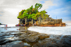 Bali-8450 (Nikhil Jhaveri Photography) Tags: ocean temple bali outdoor landscape seascape beautifulearth wow lookat
