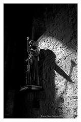 shadow (alamond) Tags: church notredamedelamer saintesmariesdelamer shadow statue provence france religion bw blackandwhite monochrome canon 7d markii mkii llens ef 1740 f4 l usm alamond brane zalar