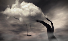 I dreamt... (Asi Amorosi ~ Thanks all for your love and supp) Tags: cloud tree surreal conceptual photoshop photomanipulation photoshopart secondlife secondlifeart dream dreamy imagination imaginary swing sky fantasy