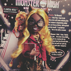 Clawdia Wolf (KTKate_and_Tanya) Tags: monster high clawdia wolf doll dolls mattel frights camera action