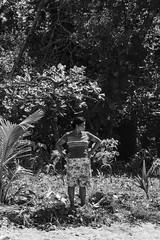 El otro lado de la isla (nickylerario) Tags: playa bocasdeltoro isla moradores habitantes indigenas parquenacional marino bastimentos nikon nikonphotography streetphotography turismo monochorme blackandwhite madre mother life