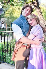 Rapunzel and Flynn (dolewhip) Tags: rapunzel flynnrider tangled disney disneyland fantasyland fantasyfaire