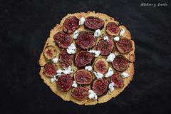Fig gruyre tart (Akane86) Tags: higos figs fig tart flammkuchen glutenfree singluten fiege cocina food