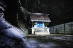 God of The Sea -  (Greg Tokyo) Tags: japan shinto sea god chiba blue cave jomon tumulus