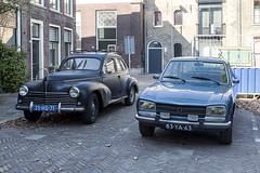 Peugot 203 & 504 (R. Engelsman) Tags: peugot 203 504 1951 1977 auto car vehicle automotive oldtimer klassieker classic
