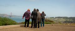 Land's End (AAcerbo) Tags: sanfrancisco landsendtrail goldengatebridge california bayarea water bridge widescreen cropped 241 tourists tourism looking