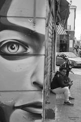(Konstantina P.) Tags: nikon d610 50mm blackandwhite blackwhite bw graffity athens thission