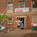 Students move in to Owen residence hall Friday afternoon with the help of family and friends.MOVEIN.2012.1717