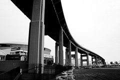 "Buffalo Skyway from below • <a style=""font-size:0.8em;"" href=""http://www.flickr.com/photos/59137086@N08/7769790166/"" target=""_blank"">View on Flickr</a>"