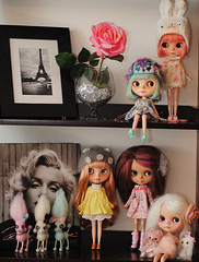 part of the dolly shelf... my little spot of happiness ❤