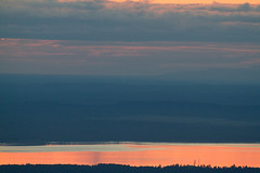 Day's End (zxgirl) Tags: sunset sky mountains alaska clouds scenic ak scene anchorage 7d 100400mm cookinlet glenalps img1916 alaska2012