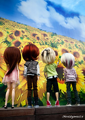 Together we looked at the sky (mouldysweets) Tags: toy doll panasonic butler groove pullip richt gf1 junplanning dollmeet taeyang