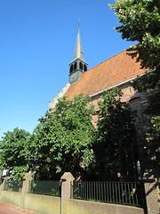 Dokkum Fr. Prot.kerk toren (Arthur-A) Tags: church netherlands nederland kirche paysbas kerk eglise friesland protestant fryslan niederlande dokkum