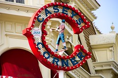 Casey's Corner (Hilary_JW) Tags: restaurants disney eurodisney disneylandparis mainstreetusa themeparks disneylandpark caseyscorner