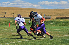 Kiowa000034 (ecphoteaux) Tags: sports football team colorado quarterback varsity defense highschoolfootball ehs footballplayers referees elbert officials offense lineman linemen teamsports runningback highschoolsports defensiveline offensiveline kiowaco 10092010