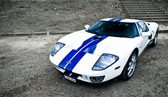 Striped Dolphin (2KP) Tags: auto blue white france classic cars ford car europe stripes mans le autos gt bugatti circuit rare supercar 2012 supercars gt40 sarthe