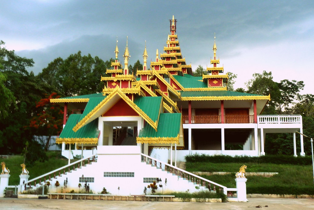 The Shan temple of Wat Jong Pen, Fang, Northern Thailand
