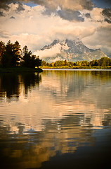 Oxbow Bend - Wyoming (Jackpicks) Tags: mountains clouds snakeriver wyoming mountmoran grandtetonnationalpark oxbowbend mygearandme mygearandmepremium mygearandmebronze mygearandmesilver gpsetest