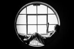 Getting Around (KopeX) Tags: york portrait blackandwhite bw window monochrome sony yorkshire northyorkshire slt a77 sonyalpha nathanreynolds kopex sonya77 nreynolds