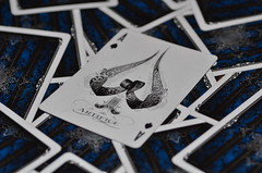 Ace of Spades (WelloJ) Tags: cards nikon ace playingcards artifice spade   a aceofspade  d7000 nikond7000          aofspade