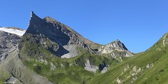 Lrmstange und Kaserer Schartl (bookhouse boy) Tags: mountains alps tirol berge alpen tyrol 2012 hintertux tuxertal kaserer frauenwand kasererschartl sommerbergalm kleinerkaserer weisewand 19august2012