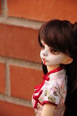 I'm waiting for you (DZ Reiko mod) (Athena Roseanna Tse) Tags: doll bjd reiko elvira msd dz dollzone