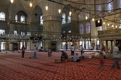 Sültanahmet Camii 藍色清真寺 (OolongChang) Tags: istanbul sultanahmet camii 藍色清真寺 sültanahmet 20120710