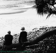 Contemplation at Noosa Heads, Queensland, Australia.2012 (PROSECMAN) Tags: sea beach sand surf australia queensland noosa noosaheads noosabeach queenslandbeach tomcrossanphotography noosaheadsqueensland