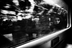 Viaggio (Enrico Lo Storto) Tags: donna riflessi treno metropolitana pensieri viaggio germania berlino viaggiare metr mezzoditrasporto enricolostorto
