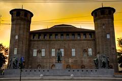 Palazzo Madama Rear Side Castle, Torino (Luigi R. Viggiano) Tags: street city italy castle church monument torino turin piazzasancarlo