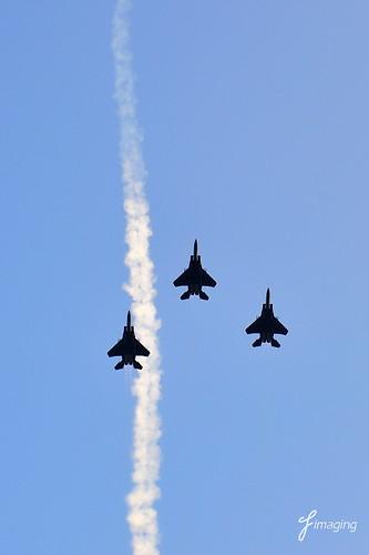 NDP 2012 - Flypast of RSAF F-16