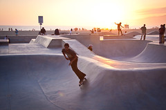 Skaters at Sunset at Venice Beach Skate Park - Los Angeles, CA (ChrisGoldNY) Tags: challengewinners challengefactory chrisgold chrisgoldny chrisgoldberg chrisgoldphotos chrisgoldphoto posters forsale albumcover albumcovers bookcover bookcovers losangeles la laist california travel viajes venice venicebeach skateboarding skating venicebeachskatepark skaters sunset westcoast