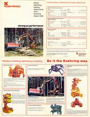 C266 1979 (The Koehring Guy) Tags: log tracks logging machine loader 1979 feller bantam tracked waterous 266 buncher koehring delimber c266