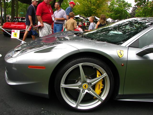 illinois geneva exotic carshow 2012ferrari458italia 2012genevaconcoursdelegance
