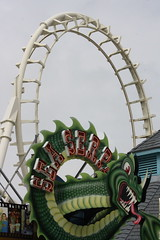 SEA SERPENT (MIKECNY) Tags: summer sign fun newjersey neon loop rollercoaster wildwood seaserpent moreyspiers