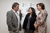 Neil Jordan Director pictured chatting to Dearbhla Walsh and Aine Moriarty