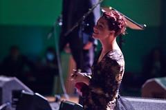 An evening with Neil Gaiman and Amanda Palmer (chrisdonia) Tags: festival edinburgh fringe 12 neilgaiman 2012 queenshall amandapalmer