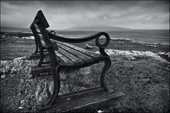 Lonely Bench (PhotoBal) Tags: uk beach bench scotland nikon d3 2470mmf28