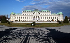 The Upper Belvedere, Schloss Belvedere, Vienna (Spencer Means) Tags: vienna wien austria shadows gates galleries upper museums palaces schlossbelvedere hunkypunk spencermeans