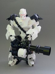 Stormer Heavy (Exxtrooper) Tags: 2 trooper black guy photography this robot is team gun factory force lego good machine police mini killer rawr weapon hero huge sasha heavy fortress bionicle handcuffs weapons mecha mech minigun bal joints tf stormer exx tf2 exxtrooper colosual