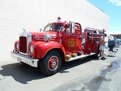 1961 Mack B95 fire truck (dave_7) Tags: classic truck fire firetruck mack 1961 b95