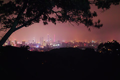 -Guangzhou in eye (jdleung) Tags: guangzhou city light tree eye night landscape haze sigma     baiyun    dist    dp2s