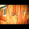 334/365. Just Hanging. (Anant N S) Tags: orange india vintage photography 50mm cool dof pov buttons faded curtains vignette pune project365 niftyfifty justhanging lensor thelensor anantnathsharma anantn