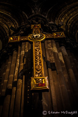 Cross @ Glasgow Cathedral (Faifley Photography) Tags: photography scotland cross cathedral glasgow clydebank trongate faifley canoneos450d faifleyphotography stevenmcdougall hagisbasheruk
