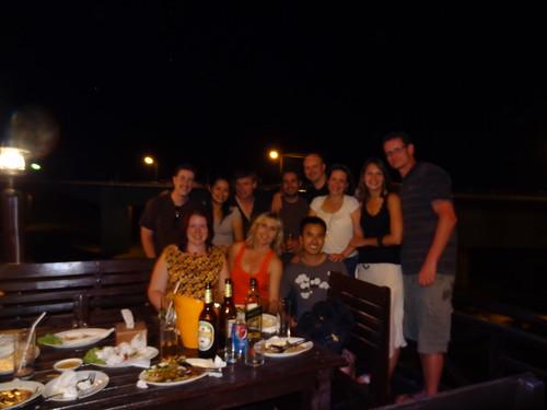 Dinner at Champasak Grand Hotel