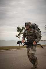 Best Warrior Competition 2013 - 44 (NDNG) Tags: road street test usa lake tree field grass leaves night soldier dawn march leaf pain team uniform shoot state walk devils rifle helmet competition run best camo camouflage nationalguard northdakota nd warrior trophy aim facepaint fitness defense patrol machinegun m16 sponsor devilslake finishline csm physical kevlar sergeant instructor task acu competitor 5mile tactical enlisted 2013 commandsergeantmajor militaryoperationsonurbanterrain northdakotaarmynationalguardcampgraftontrainingcenter harleyschwind